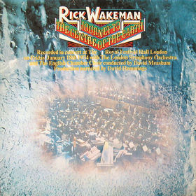 No.25 : Rick Wakeman - Journey to The Centre    Of The Earth